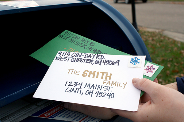 Mail Holiday Cards With Civic Pride