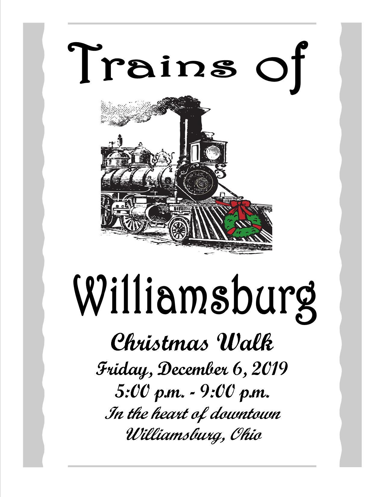 Williamsburg Christmas 2019.The Trains Of Williamsburg Christmas Walk 2019
